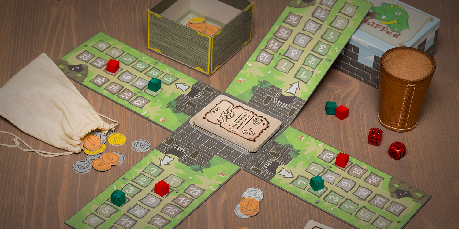 Chaffer, the boardgame